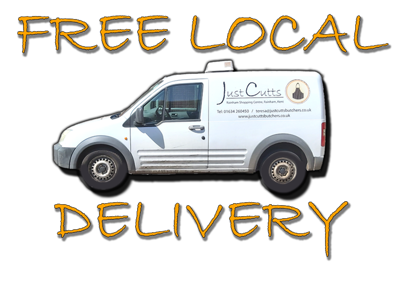 Free Local Delivery - Just Cutts Butchers